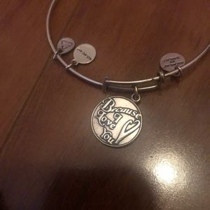 Because of you Alex and Ani
